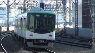 京阪電車***3/28 朝の検査切れ車両の7203編成君