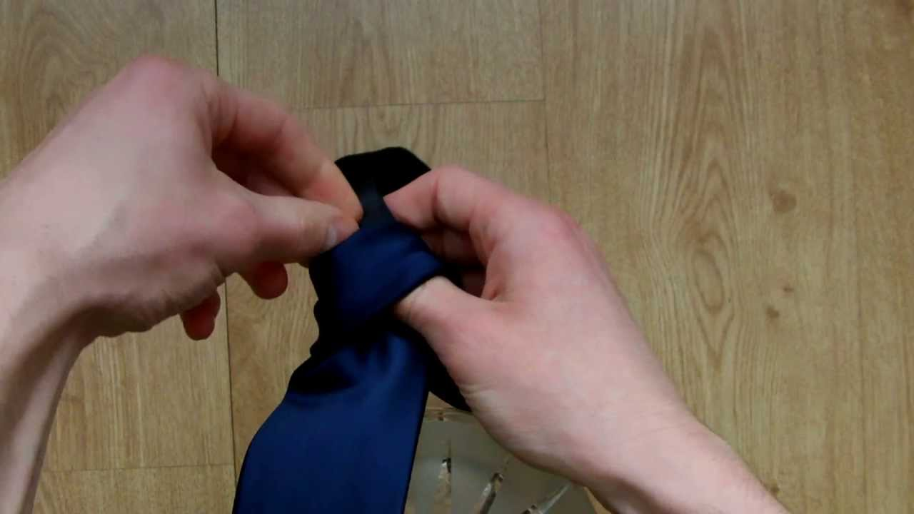 How to tie a tie very easy oriental knot from your point of view how to tie a tie very easy oriental knot from your point of view full hd ccuart Image collections
