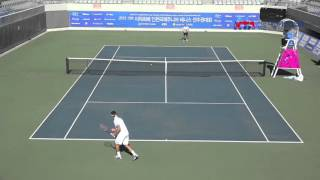 2015 Lee Duk Hee Cup Incheon International Junior Tennis  QF Seong Chan Hong/Borna GOJO