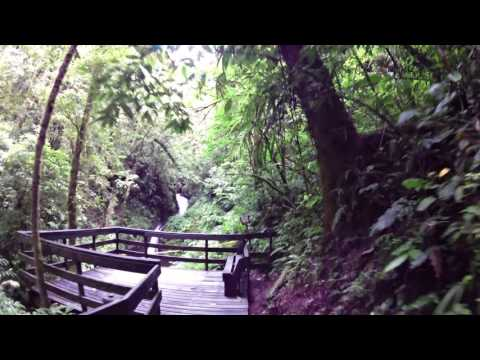 Costa Rica Monteverde Cloud Forest Guided Hike Part 10 Waterfall at LeaningTraveler.com