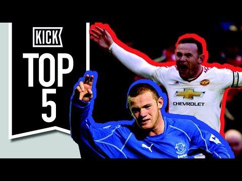 Top 5 Wayne Rooney Moments Ever