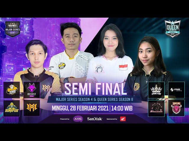 Semi Final: Queen Series 2 & Major Series 4 - Garena CODM