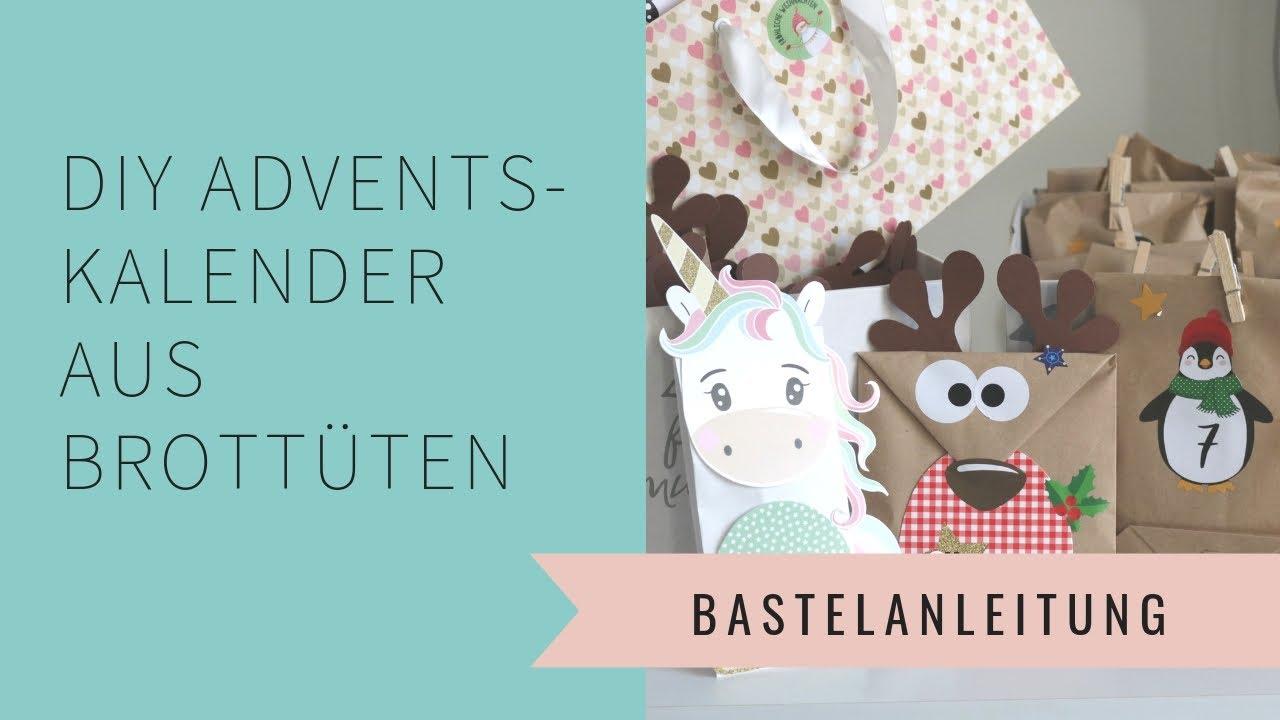 Diy Adventskalender Aus Brotbeuteln Basteln Und Was Ich Den Kindern Reinfülle