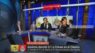 Analisis del AMERICA vs CHIVAS - Jornada 10 Apertura 2017 - Futbol Picante (2/2)
