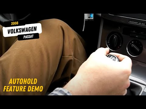 39 08 vw passat auto hold feature demo youtube. Black Bedroom Furniture Sets. Home Design Ideas