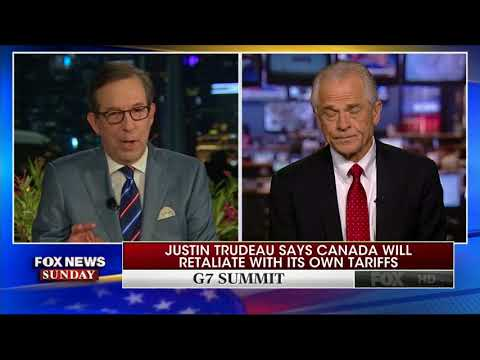White House Adviser Peter Navarro: 'Special Place In Hell' For 'Bad Faith' Justin Trudeau