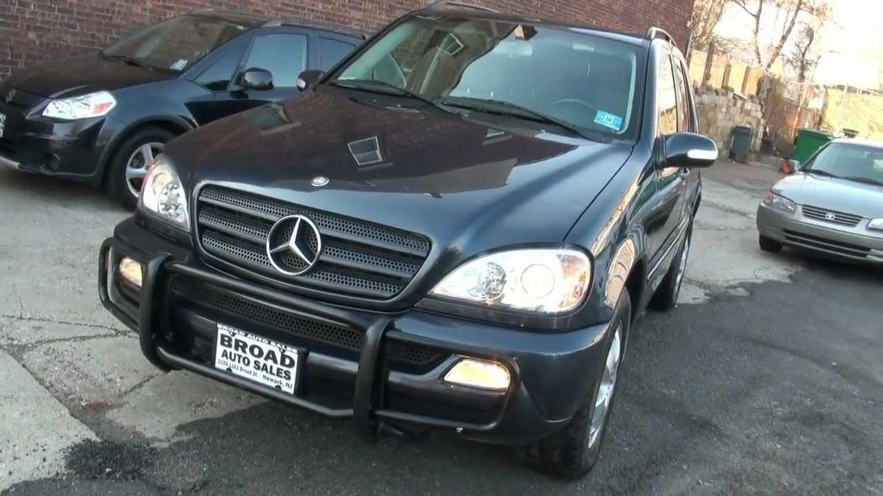 2003 mercedes benz m class ml350 4matic awd overview youtube for Mercedes benz e class 2003 price