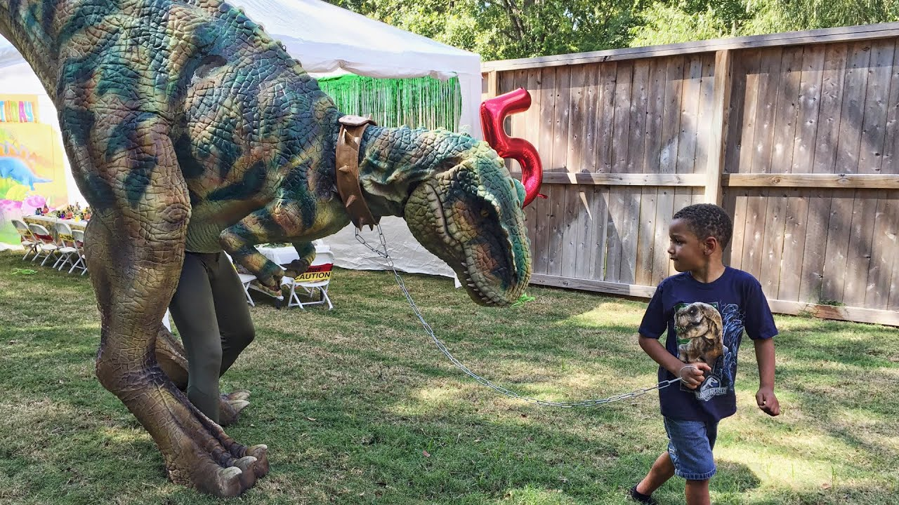 Nicholas S 5th Birthday Party Jurassic Park Theme