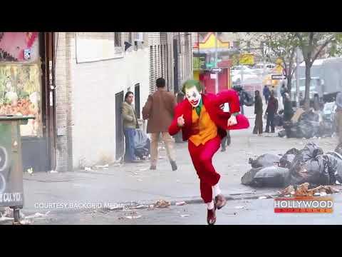 Sur Le Tournage Du Film Joker (2019) / On The Joker Movie Set