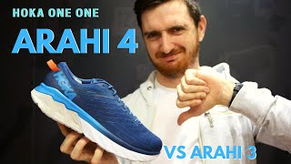 Hoka One One Arahi 4 Review | Zero Updates!