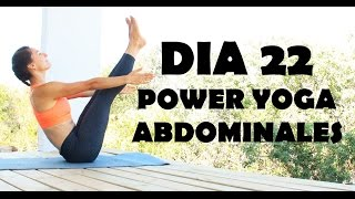 Power Yoga - Día 22 Abdominales