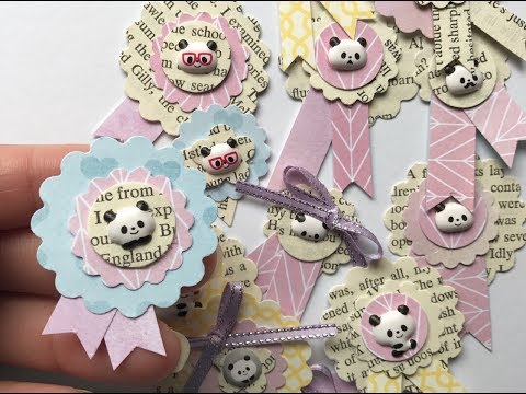 Upcycling & Repurpose Old Book Pages - DIY Tiny Embellishments for Scrapbook or Junk Journal