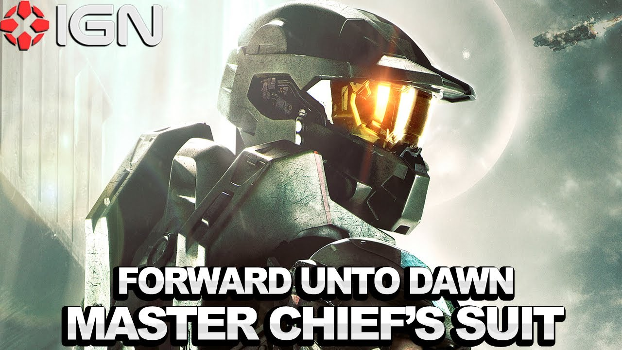 First Look Master Chief S Suit In Halo 4 Forward Unto Dawn Live