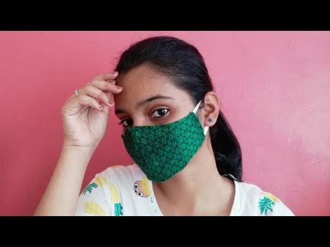 DIY face mask in 5 min !!!