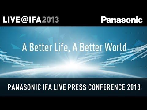 The Panasonic IFA 2013 Live Press Conference