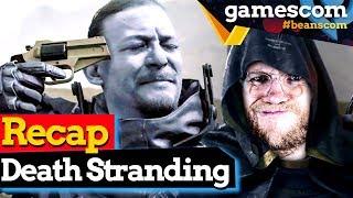 Death Stranding GC Präsentation: Meisterwerk oder Misslungen? | gamescom 2019