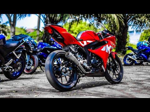 Pikir Pikir Lagi Jika Ingin Ganti Ban Racing Untuk Harian , Cepet Abis!! Suzuki Gsx R 150 Ban Slick