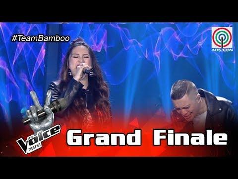The Voice Teens Philippines Grand Finale: Coach Bamboo & Isabela - Kapayapaan