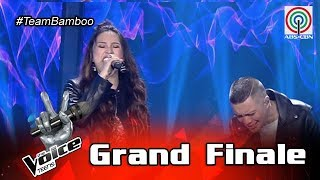 The Voice Teens Philippines Grand Finale: Coach Bamboo & Isabela - Kapayapaan