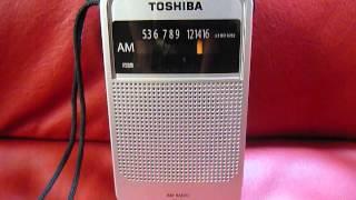 ラジオその28 toshiba ty kr1 ラジオ日本受信中