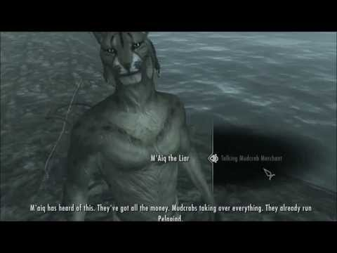 The complete M'aiq (from Morrowind through Oblivion to Skyrim)