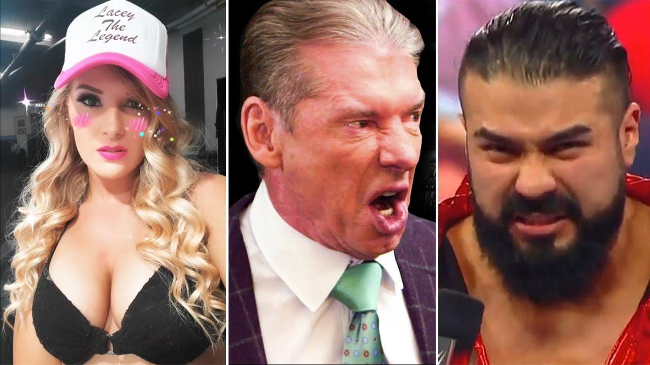 Vince no ve nada en Andrade, Carlito abandona WWE, Lacey Evans embarazada, MVP lesionado