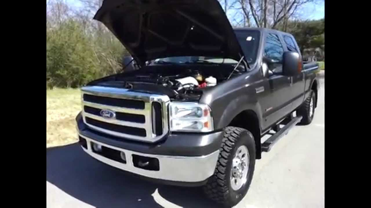 sold 2005 ford f 250 sd crewcab 4x4 xlt fx4 offroad 6 0 diesel one rh youtube com  ford f250 diesel a vendre