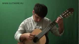 LEZGINKA on acoustic guitar - arranged and performed by Alexander Chuyko / ЛЕЗГИНКА на гитаре