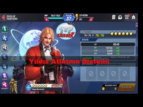 King Of Fighters All Star - Karaktere Yıldız Atlatma Sistemi