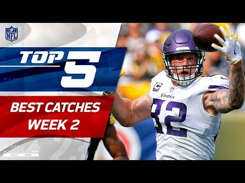 Top 5 Catches of Week 2 | 2017 NFL Highlights