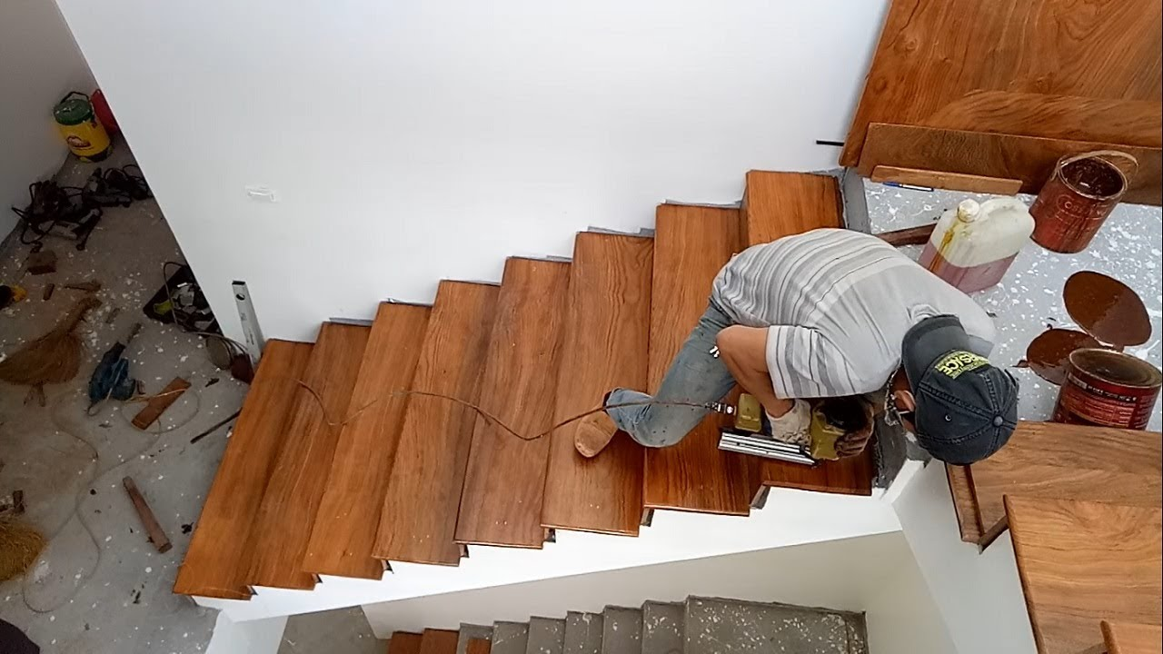 How To Build Stairs Building And Installation A Wooden