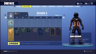 Fortnite Season 3 BR Official Rewards