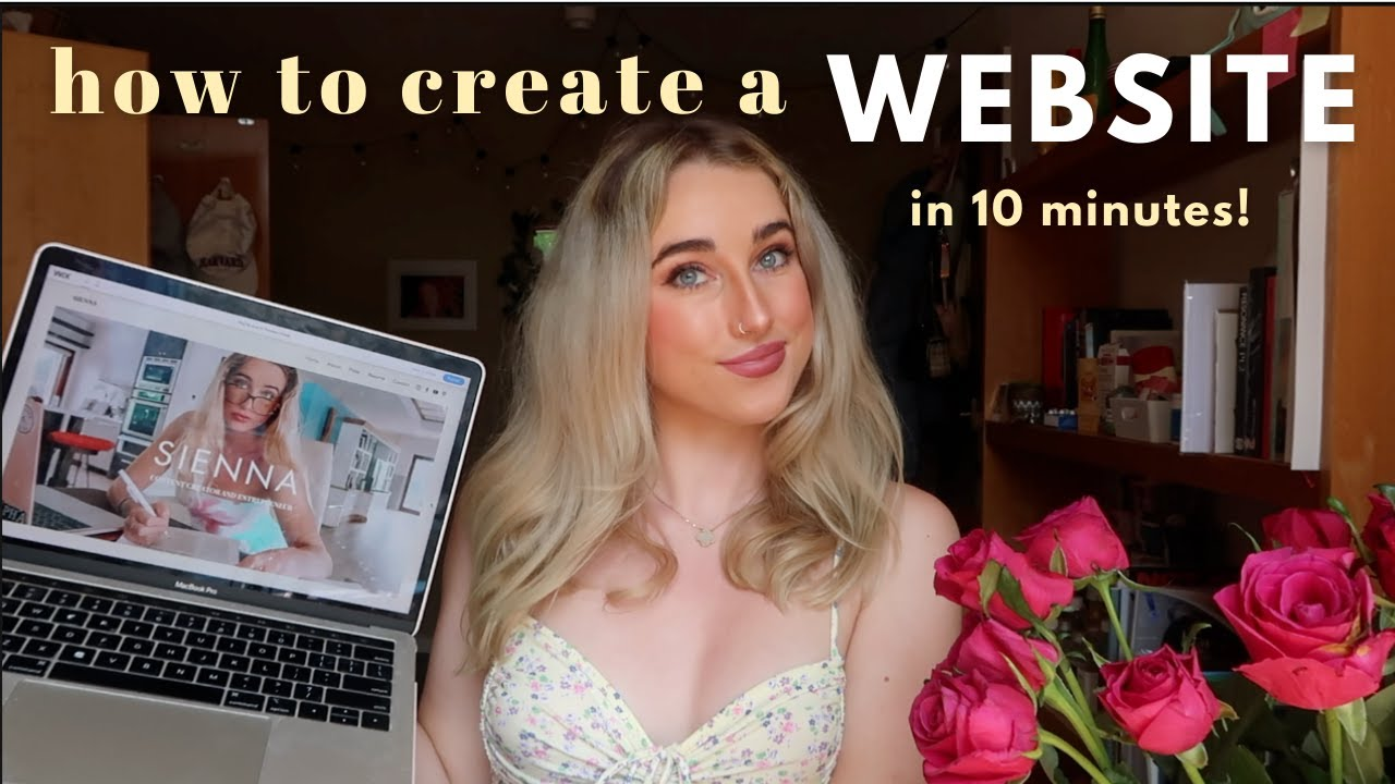 how to create a WEBSITE   10 min tutorial 2021
