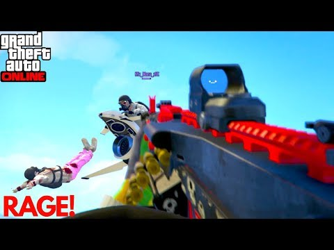 Making Tryhards Players Rage Quit The Game Angry Players GTA 5 Online