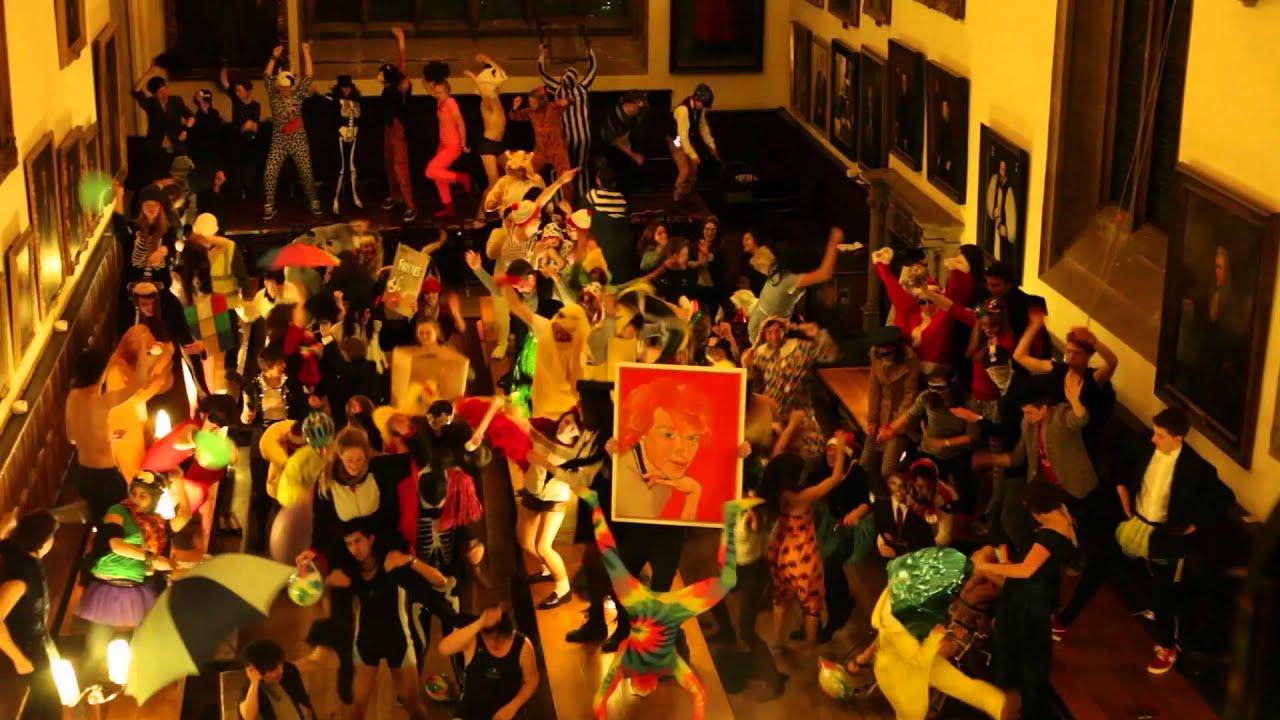 Wadham Harlem Shake Oxford University Harry Potter Style Hall Youtube