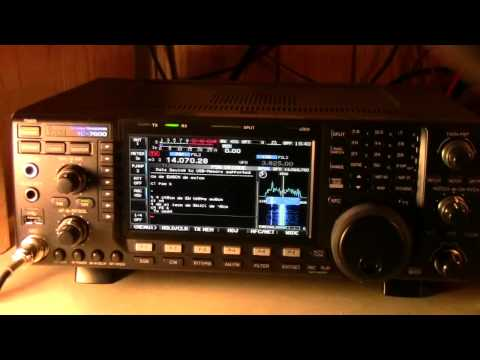 Icom IC 7600 Decoding PSK31