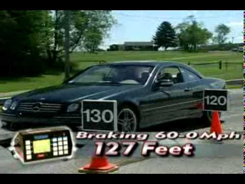 Motorweek Video of the 2006 Mercedes-Benz CL-Class