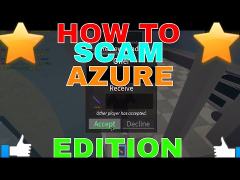 How To Scam In Roblox Assassin How To Scam Azure Knife Edition Roblox Assassins Scamming People Youtube