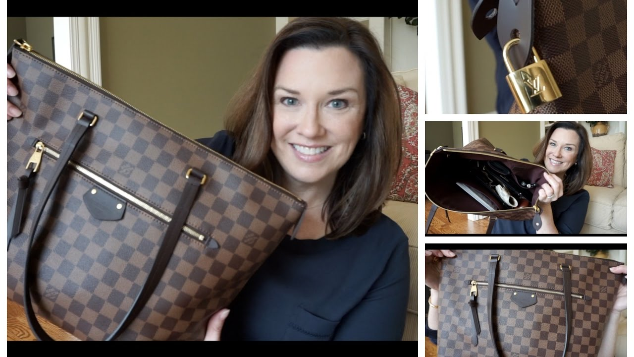 2609a41796b8 Louis Vuitton Iéna MM What s in My Bag   Mini-Review - YouTube