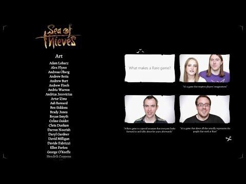 Sea of Thieves Credits