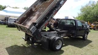 2026 Video - 2002 Ford F550 4X4 Dump