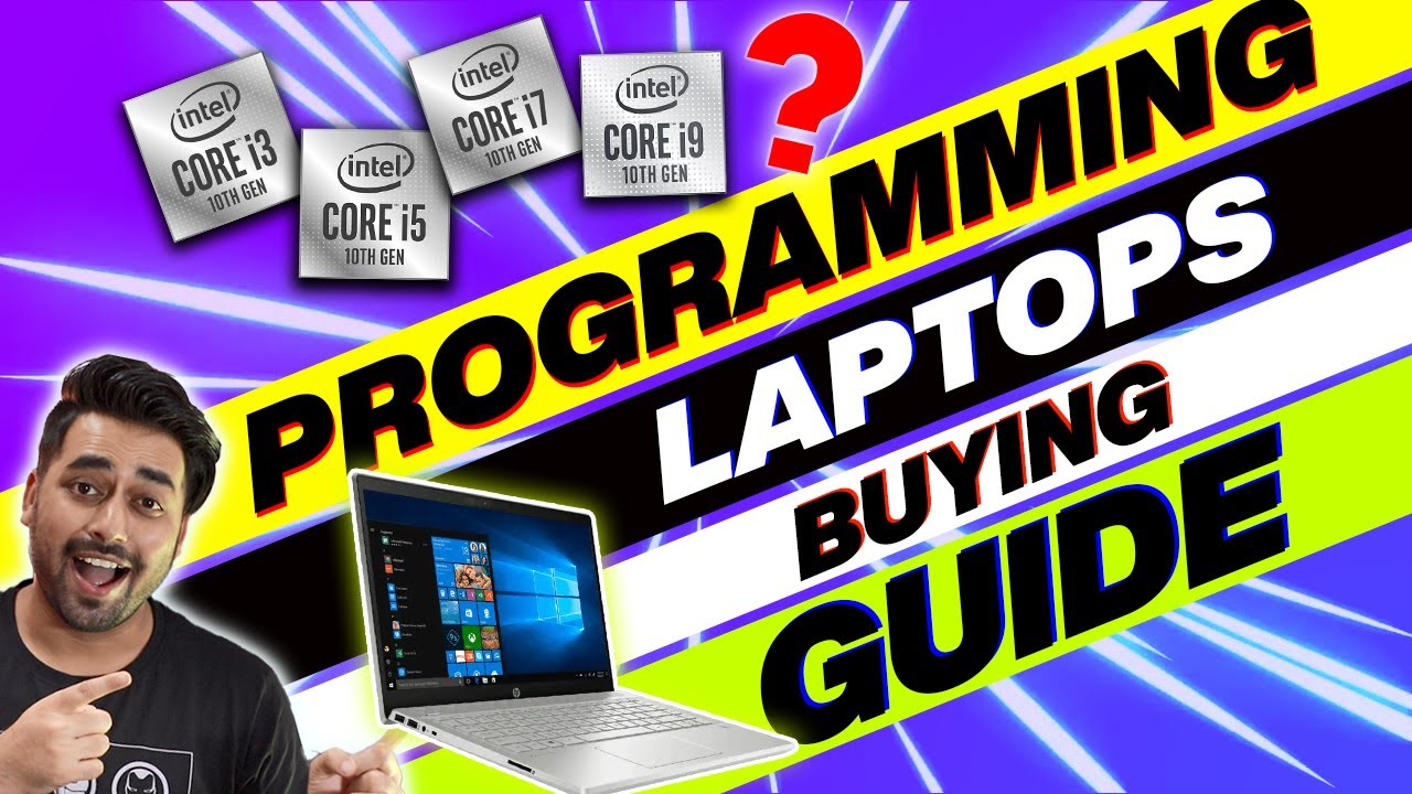 Best LAPTOP For Coding and Programming in INDIA 2020 - How To Choose Best Laptop For Programming ❓❓❓