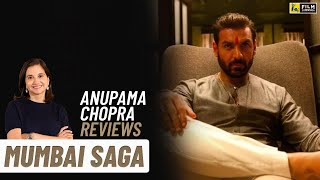 Mumbai Saga | Bollywood Movie Review By Anupama Chopra | John Abraham, Emraan Hashmi