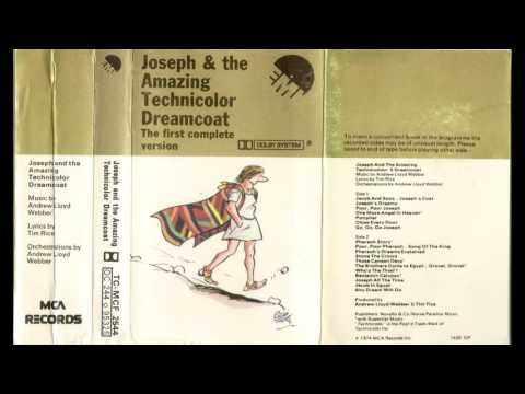 JOSEPH & THE AMAZING TECHNICOLOR DREAMCOAT The first complete version - Andrew Webber, Tim Rice 1974