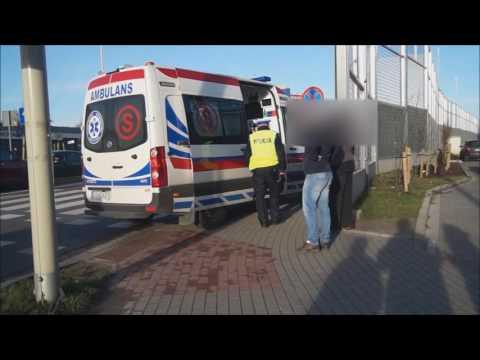 Potrącenie przy ulicy 11 listopada w Slupsku