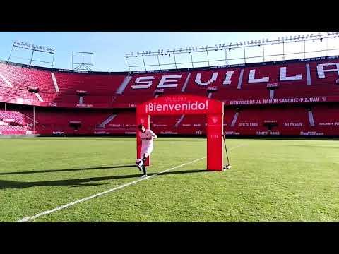 Arana Ya Luce como Jugador del Sevilla en el Sánchez-Pizjuán