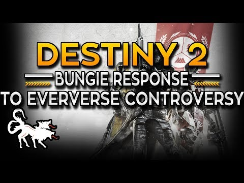 Bungie responds to Destiny 2 #RemoveEververse movement and controversy backlash