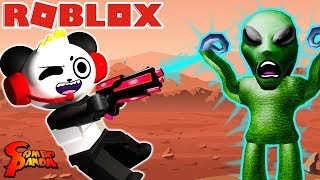 Roblox Time Travel Adventures MISSION TO MARS! Escape the Aliens! Let's Play with Combo Panda