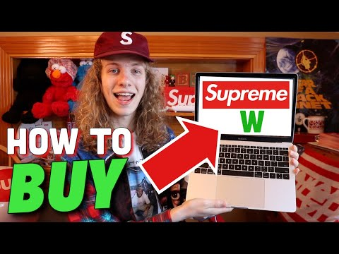 How To Buy Supreme For Retail! (Box Logos, TNF, Any Hype Item!)