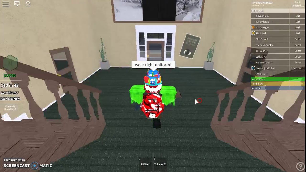 Download Protected The Border from resistances I Roblox